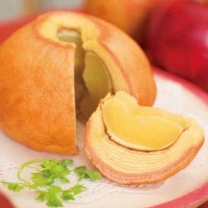 まるごと林檎紅茶バウムクーヘン