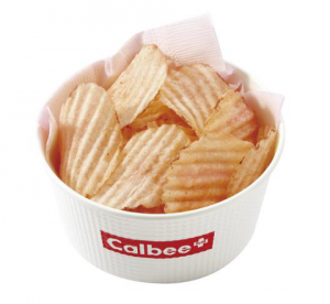 ポテトチップス「桜えび塩味」
