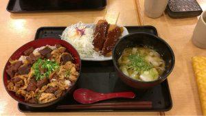 名古屋どてみそ肉めし定食