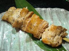 鶏膳「萬幻豚串焼き」