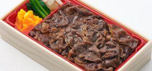 柿次郎「牛鍋弁当」