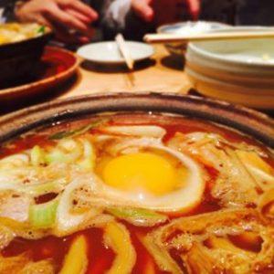 和麺かきつばた「味噌煮込みうどん」