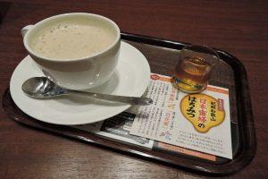 上島珈琲店「日本蜜蜂のはちみつミルク珈琲