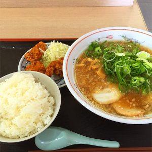 京風ラーメン定食